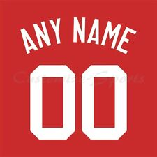 Baseball Cincinnati Reds 1990 Red Jersey Customized Number Kit un-stitched