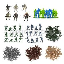 Plastic 6/12/100pcs Set Army Police Soldier DIY Combat Figures Military Toy Game