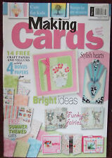 Making  Cards Magazines NEW with Free papers/gifts **REDUCED PRICE**