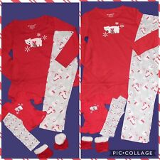 *American Girl* Christmas Bear Pajamas + Doll Pjs XS (6) &/or M (10/12) ~U PICK~