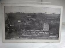 PPC 1907 Monongah West Virginia No 8 Mine Explosion Disaster PostCard