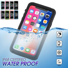For iPhone X 8 7 6S Plus 6 Waterproof Shockproof Dirt Proof Hard Case Full Cover