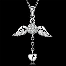1 Pcs Necklace Pendant Angel Wings Hot Crystal Necklace Fashion Jewelry Popular