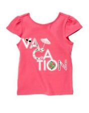 NWT Gymboree Girls Palm Beach Paradise Vacation Pink Top Size 4 & 5