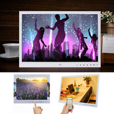 7/13/15'' Digital Photo Frame HD Picture Album Clock MP4 Music Movie Player JS