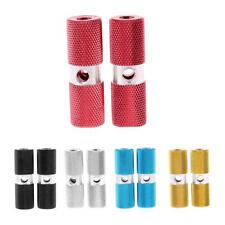 2Pcs Aluminium Alloy Pegs Bike Bicycle Cycling Foot Pegs for 3/8 inch Axle