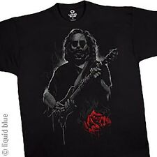 JERRY GARCIA-ROSES-GUITAR-GRATEFUL DEAD-T SHIRT M-L  NEW- RARE