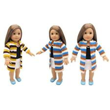 Cute Clothing Woolen Sweater Coat Dress Outfits for 18'' American Girl Dolls