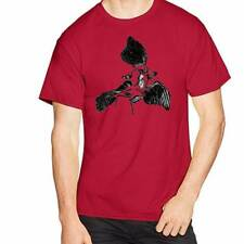 ARCHAEOPTERYX Fossil Dinosaur Paleontology Novelty Fun Unique Gift Shirt Men RED