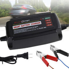 12V 5A Smart Fast Lead Acid Ebike Motorcycle Car Battery Charger Intelligent