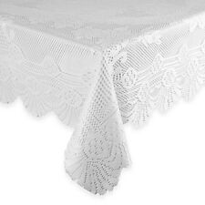 Brand new Lace Tablecloth 63-Inch x 90-Inch Oval lace in White polyester
