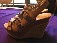 NEW WOMEN'S NINE WEST SHOES WIXSONO PLATFORM SANDALS - NWOB-SIZE 7.5 -NEW SHOES!