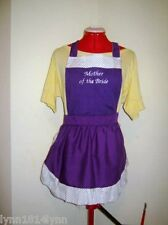 PERSONALISED KITCHEN TEA / BRIDAL SHOWER APRONS for all HEN & HEN HELPER