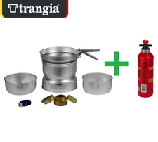 TRANGIA 25-1 ULTRA LIGHT COOKING SYSTEM STORM PROOF COOK SET STOVE CAMPING