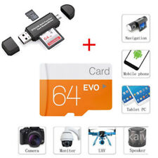 High Speed 64GB Class 10 Micro SD TF Flash Memory Card for Camera Mobile Phone