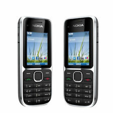 Nokia C2-01 Unlocked Original Mobile Phone C2 Refurbished GSM/WCDMA 3G Cellphone