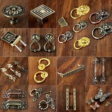 Zinc Alloy Door Pulls Knobs Handles Antique Cabinet Drawer Handles Hardware