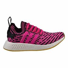 adidas Originals Men's NMD_r2 PK Sneaker Shock Pink/Shock Pink/Black