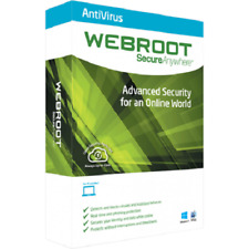 Webroot Secure Anywhere Antivirus 2018 Fast Email Delivery 600+ Day Subscription