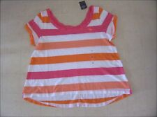 Abercrombie & Fitch Womens Striped Off Shoulder Shirts Mulltcolor XS/S/M-NWT $30