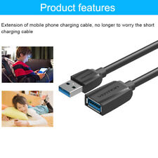 USB 3.0 Extension Cable Male to Female Extension Data Transfer Super Speed AU
