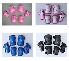 Children Kid's Cycling Inline Roller Skating Knee Elbow Wrist Protective Pads