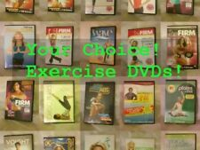 Prices reduced! Your choice any Fitness DVD: Firm, Tracy Anderson, Pilates, more