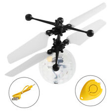 Flying RC Electric Ball LED Flashing Light Aircraft Helicopter Induction NEW Toy