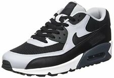 Nike Mens Air Max 90 Essential Running Shoes Black/Wolf Grey/Anthracite 537384-