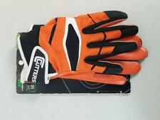 NWT $45 X40 C-TACK Revolution Cutters Football Gloves Blue or Orange S-M