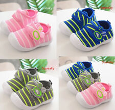 Breathable Squeaky Infant Shoes Toddler Baby Boy Girls Walking Shoes Size 4-7
