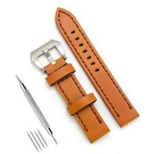 Genuine Leather Watch Band 20mm Leather Watch Strap Top Calf Grain Watch Bands