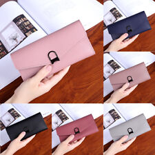 Leather Wallet  Button Clutch Purse  Fashion Women Lady Short Handbag Bag K0186