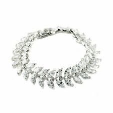 Becky Marquise Statement Tennis Bracelet  | 30ct | Cubic Zirconia