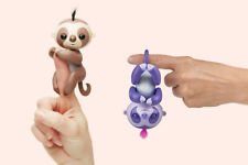 Wow Wee Fingerlings Baby Sloth Interactive Doll- Choose from 2