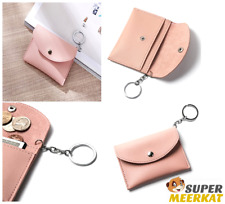 Coin Purse Credit Card ID Holder Slim Case Leather Wallet Organizer For Women