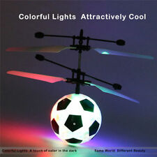 Soccer Magic Electric Flying Ball Helicopter UFO LED Light Infrared Sensor Toy