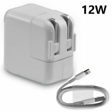 12W USB Wall Charger & USB Cable For Apple iPad Pro Mini Air 2 iPhone 7 6s Plus