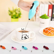 AU Egg Beater Coffee Stirrer Milk Frother Drink Foamer Electric Whisk Mixer