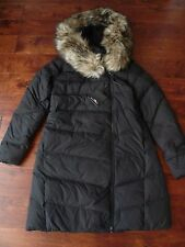 NWT $598 RALPH LAUREN RLX BLACK HOODED DOWN JACKET COAT,  SZ XS