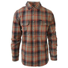 NWT Mens Obey Checked Long Sleeve Flannel Shirt (Retail: $120.00)