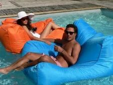 Floating Pool Sofa Bean Bag Couch Indoor Outdoor Water Resistant Lounger Relax