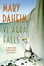 Bed-And-Breakfast Mysteries: Vi Agra Falls 24 by Mary Daheim (2008, Hardcover)