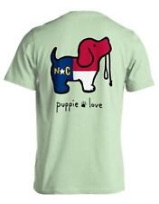 Puppie Love Help Rescue Dogs T-shirt Puppy Love NORTH CAROLINA PUP Mint Green