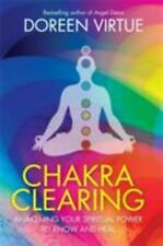 Chakra Clearing Virtue, Doreen Paperback Book New