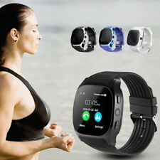T8 Bluetooth Smart Watch SIM TF Card Pedometer For Android iPhone 0.3MP Camera