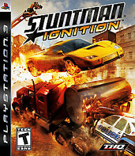 Stuntman: Ignition (Sony PlayStation 3, 2007) Complete in Box