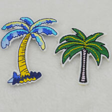 Cute coconut tree Embroidered Cloth Iron On Patch Sew Motif Applique badge