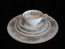 Noritake Ramona 5203 MCM Bone China White with Blue Flowers Japan **Your Choice