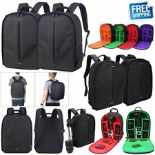 Waterproof Camera Backpack DSLR SLR Camera Bag Case For Canon Nikon Sony Pentax